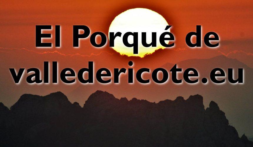 El Porqué de ValledeRicote.eu