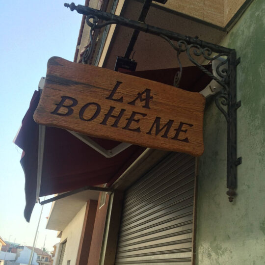 Restaurante La Boheme Archena